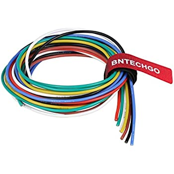 electrical wire 20 awg 20 gauge silicone wire hook up wire cable 20 rh amazon com
