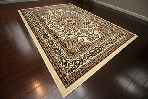 Generations New Oriental Traditional Isfahan Persian Area Rug, 2