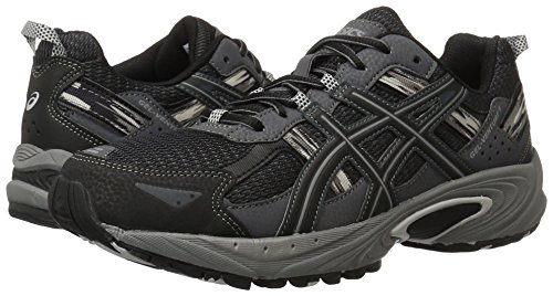 ASICS Men's Gel Venture 5 Running Shoe, Black/Onyx/Charcoal, 11 M US