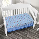 Baby Boy Fitted Crib Sheet Police, Fire and