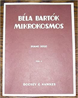 Image result for bartok mikrokosmos used sheet music