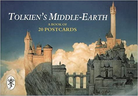 tolkiens middle earth and monsters postcard book a book of 40 postcards