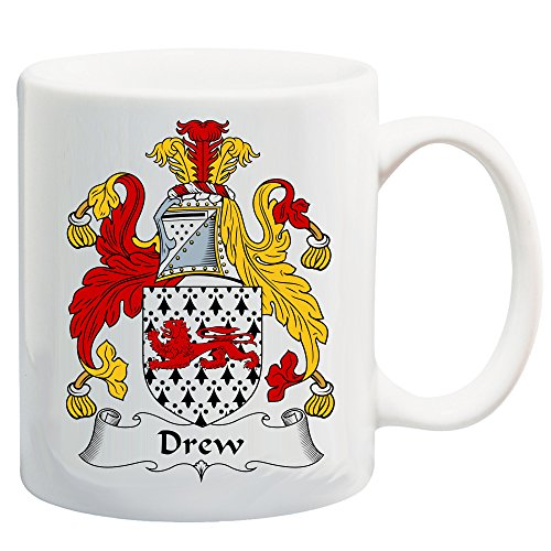 Drew Coat of Arms/Drew Family Crest 11 Oz Coffee/Cocoa Mug