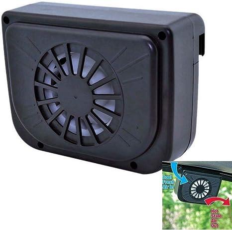 Winnes - Ventilador solar para coche, para ventana, mini ...