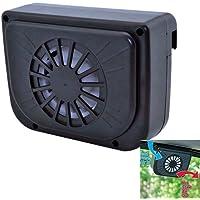Winnes - Ventilador solar para coche/Ventana/Miniaire acondicionado/Ventilador
