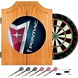 Pontiac Wood Dart Cabinet Set