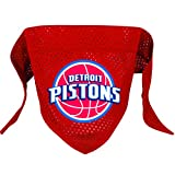 Hunter MFG Detroit Pistons Mesh Dog Bandana, Small