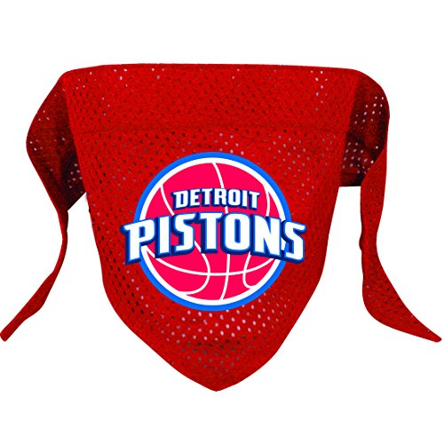 Hunter MFG Detroit Pistons Mesh Dog Bandana, Large