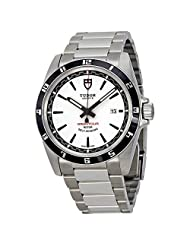 Tudor Grantour Automatic White Dial Stainless Steel Mens Watch 20500N-WSSS