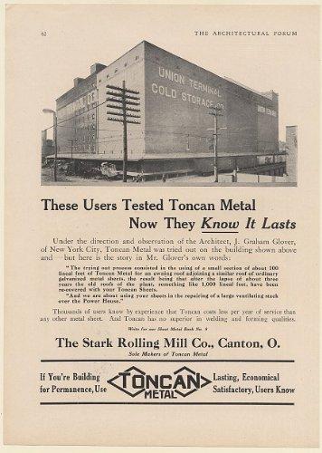 1920 Union Terminal Cold Storage Co Building Toncan Metal Stark Rolling Mill Print Ad (60025  sc 1 st  Amazon.com & Amazon.com: 1920 Union Terminal Cold Storage Co Building Toncan ...