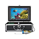 MAOTEWANG 9 Inch 30M 1000TVL Fish Finder Underwater Fishing Camera 15pcs White LEDs + 15pcs Infrared Lamp for Ice/Sea/River Fishing