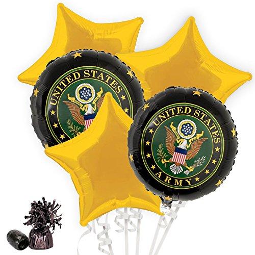 (Costume SuperCenter US Army Balloon Bouquet)