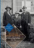 Bernard Shaw and Beatrice Webb on Poverty and