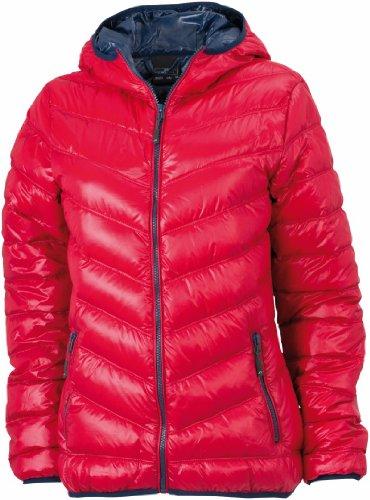 red Jacket M Puffer navy Down Nicholson Size JN1059 James amp; Ladies Twq0SSPO