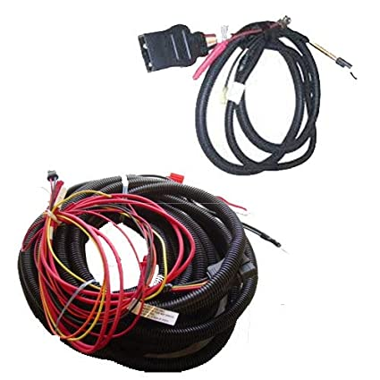 amazon com: western fisher spreader wiring kit (includes part # 63633 and  63634): automotive