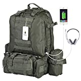 Best Backpack With Removable - VIDENG POLO PC29 Tactical Backpack Military Molle Compatible Review