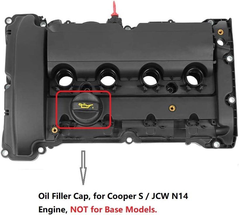 Oil Filler Cap For Mini Cooper S Clubman R55 2008-2010 JCW R55 R56 R57 2009-2012 N14 1.6