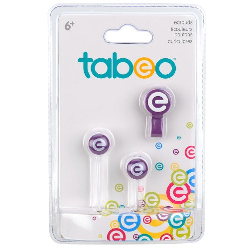 Tabeo Earbud Cable Tie Purple