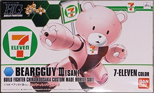 Bandai Gundam Built Fighters Hg 1 144 Beargguy Iii Seven Eleven Color Limited