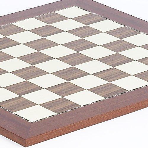 【送料関税無料】 Astor Placeチェスボードfrom Spain Spain B003C8J0OY with Brass Corners – – Squares 1 3/ 4