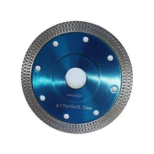 4.5-7/8-Inch Diamond Saw Blade for Cutting Granite Ceramic Marble Porcelain Tiles by Harea