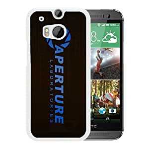 Customized Portal Aperture Laboratories White HTC ONE M8 Phone Cover Case