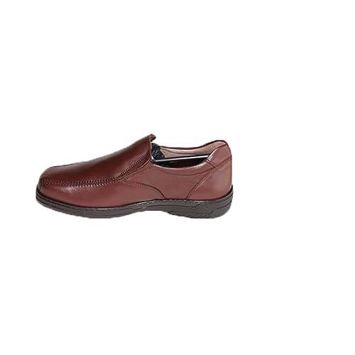 Primocx Chaussure spéciale pour Hommes pour Les diabétiques Très Confortable Brun Taille 47 qfjjrWVL