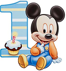 Amazon.com: Baby Mickey Mouse One Year 1st Birthday Edible