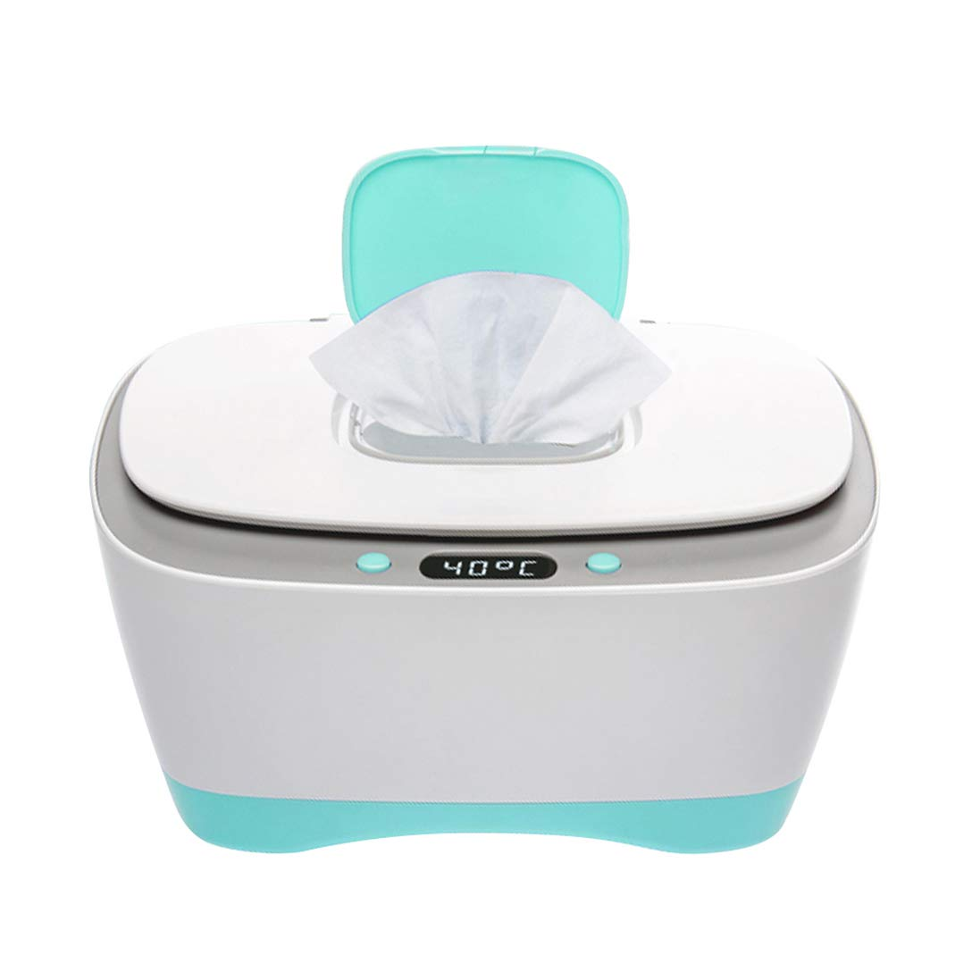 ZZZGY Large Capacity Baby Wipes Dispenser Warmer, Non-Slip, Easy Open & Close Wipe Container, All Day Constant Temperature, No Smell by ZZZGY