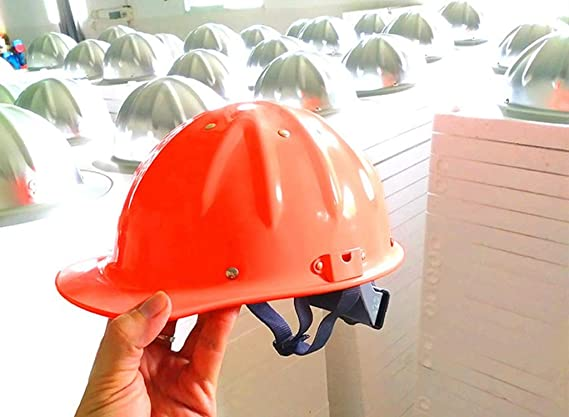 QXX Aluminio Casco de Trabajo Ajustable Casco Casco Protector ...