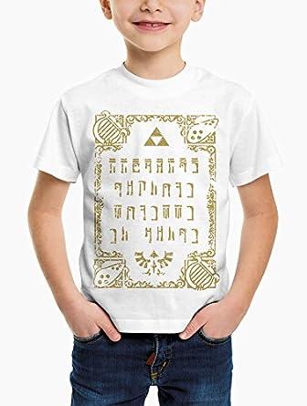 c6b827f1baabb T-shirt Enfant Zelda Triforce (Taille: 11-12 ans): Amazon.fr ...