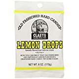 Claeys Lemon Candies, Lemon, 6oz - Each