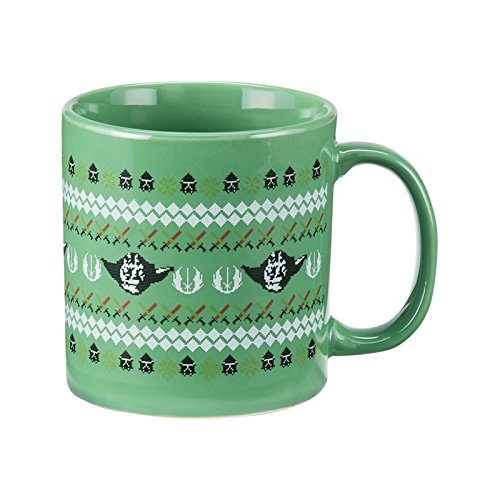 Star Wars Light Side Ugly Sweater Yoda Mug