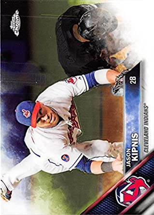 Baseball MLB 2016 Topps Chrome #184 Jason Kipnis #184 NM+ Indians