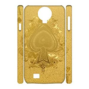Unique Durable 3D Hard Plastic Case Cover for SamSung Galaxy S4 I9500 - Playing Card CM11L6008