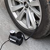 Ecosin Portable Mini Air Compressor 12V 300 PSI Car Van Bike Tyre Inflator