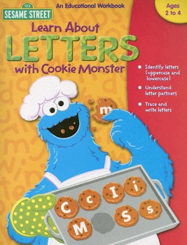Sesame Street Learn About Letters With Cookie Monster: Ages 3+ pdf epub