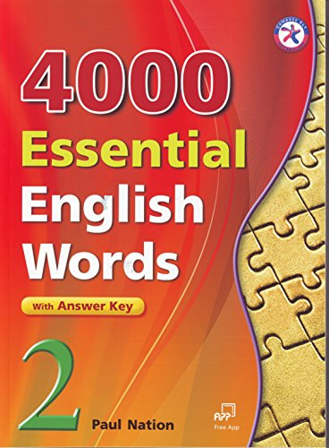 4000 Essential English Words, Book 2 with Answer Key (4000 English Words Essential)