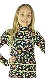 TutuBlue Girls Long Beach Suit UPF50 - As Seen On Shark Tank (12-13, Butterfly)