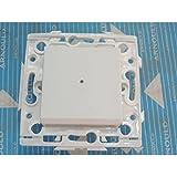 Arnould Espace 60107 - Interrupteur va-et-vient lumineux - 10A - Blanc Lumière