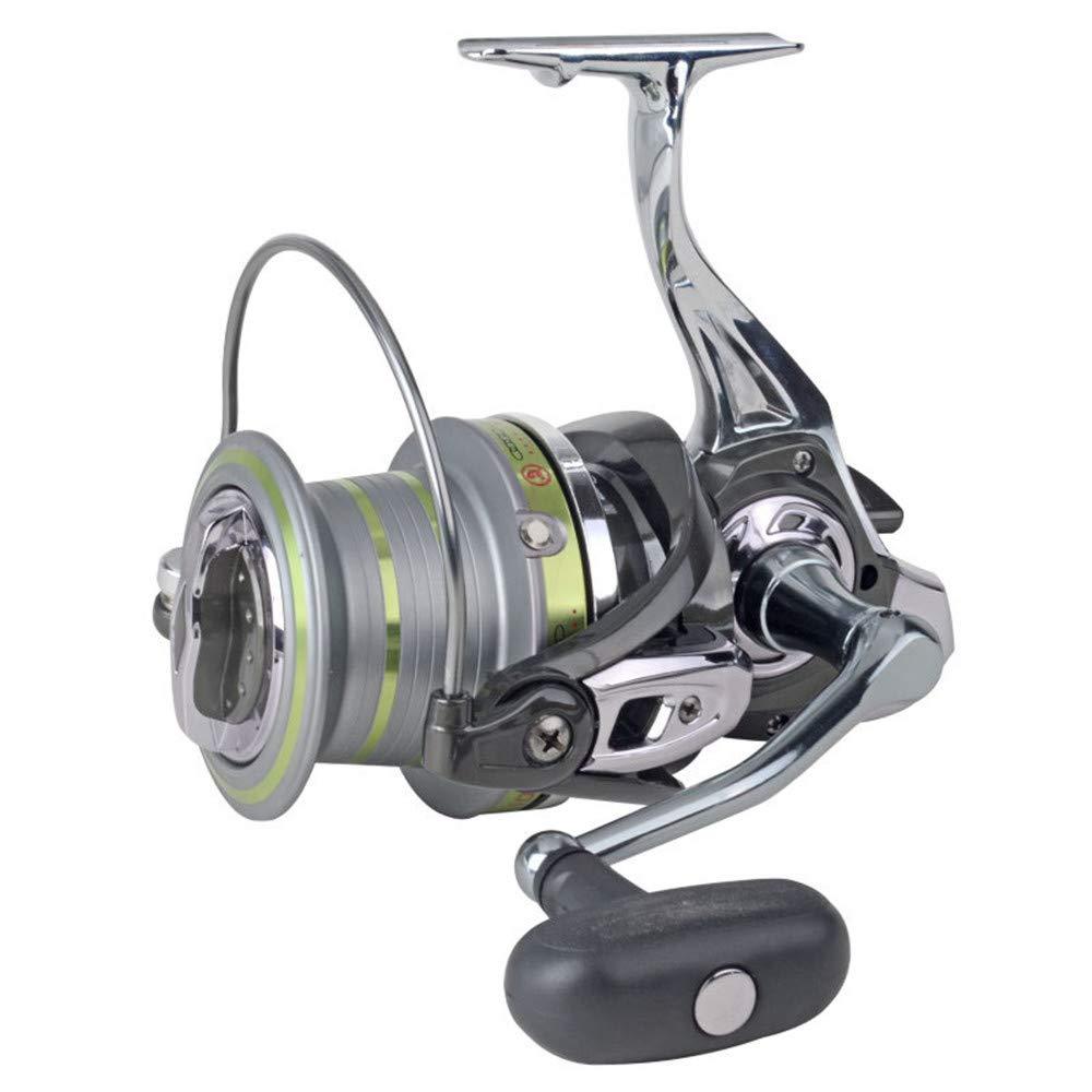 釣り用リール スピニングフィッシングリール13 + 1ベアリング左右交換ハンドルダブル海水淡水釣り用ダブルドラッグブレーキシステム 8000  B07QHG9D4F