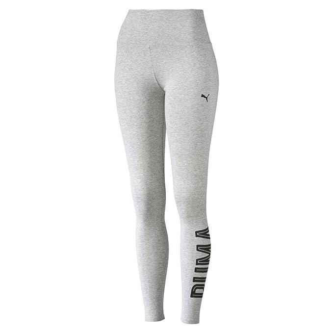 PUMA Women's Style Swagger 3/4 Leggings Light Gray Heather Pants