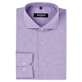 Balmain Shirt for Men - Purple