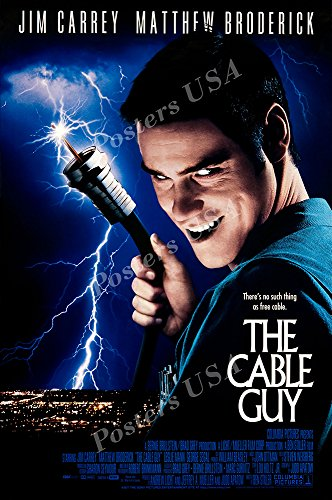Posters USA - The Cable Guy Movie Poster GLOSSY FINISH - MOV800 (24