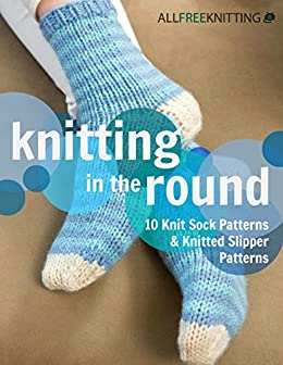 Knitting Round Patterns Knitted Slipper ebook product image