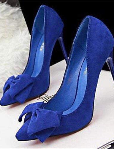 GGX/Damen Schuhe Synthetik Stiletto Heel Heels Heels Office & Karriere/Kleid Schwarz/Blau/Gelb/Pink/Rot pink-us5 / eu35 / uk3 / cn34