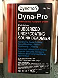 Kyпить Dynatron 544 Dyna-Pro Paintable Rubberized Undercoating Can, 120 oz, Gallon Can на Amazon.com
