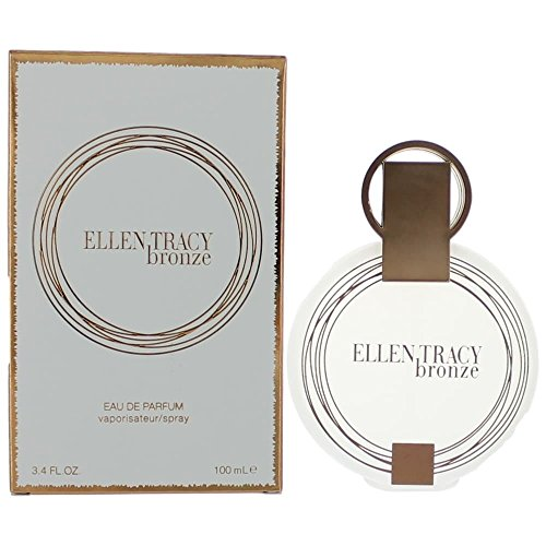 Ellen Tracy Eau de Parfum Spray, Bronze, 3.3 Fluid Ounce