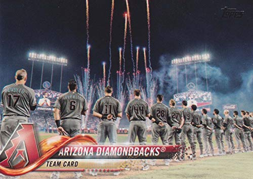 Arizona Diamondbacks 2018 Topps MLB Baseball Complete Mint Hand Collated 23 Card Team Set with Paul Goldschmidt and Zach Greinke plus]()