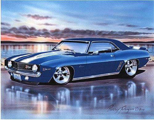 classic camaro poster - 3